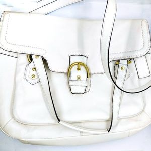Authentic White Coach Shoulder Bag